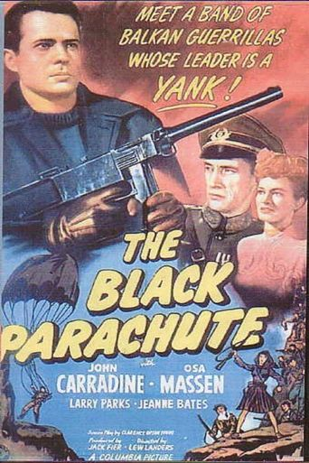 The Black Parachute Poster
