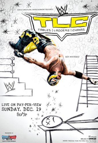 WWE TLC: Tables Ladders & Chairs 2010 Poster