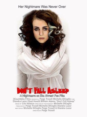Don't Fall Asleep Poster