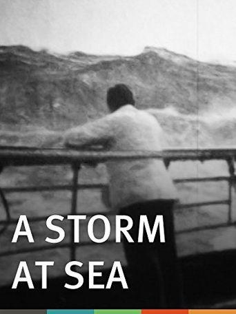 A Storm at Sea Poster