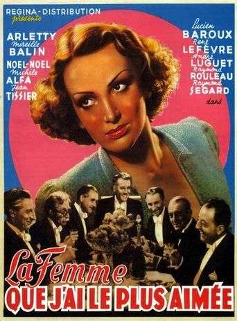 La Femme que j'ai le plus aimée Poster
