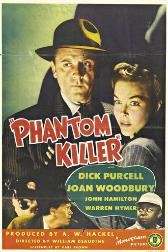 Phantom Killer Poster
