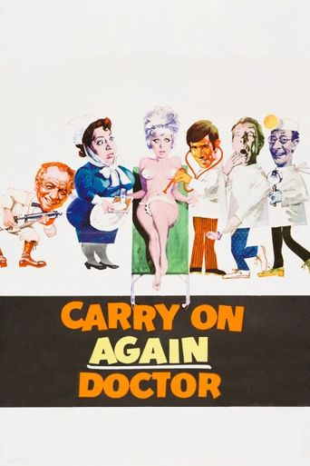Carry on Again Doctor Poster