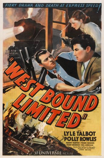 West Bound Limited Poster