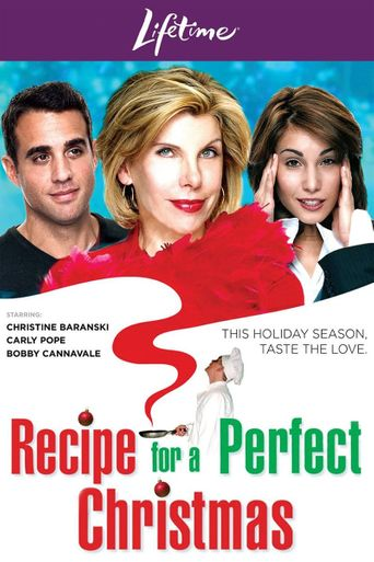 Recipe for a Perfect Christmas Poster