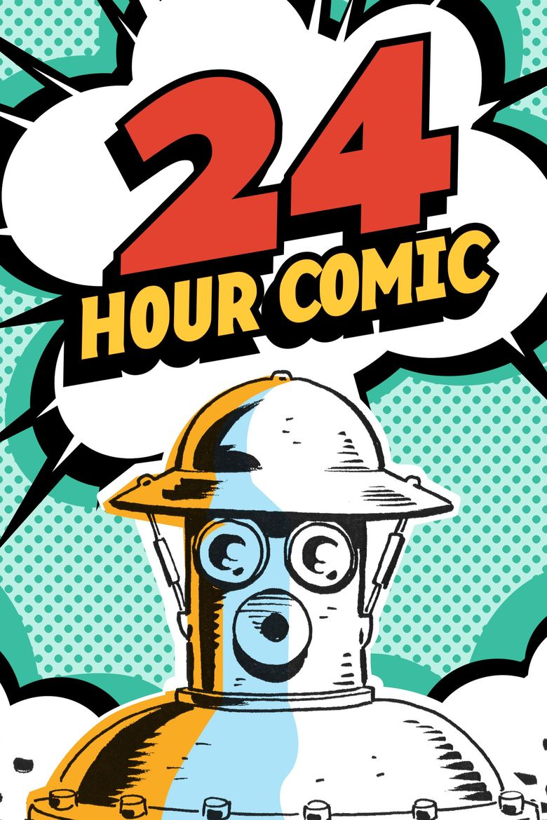 24 Hour Comic Poster