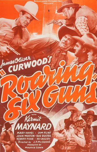 Roaring Six Guns Poster