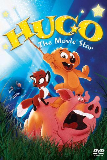 Hugo the Movie Star Poster