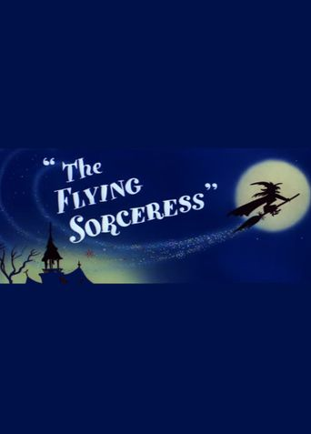 The Flying Sorceress Poster