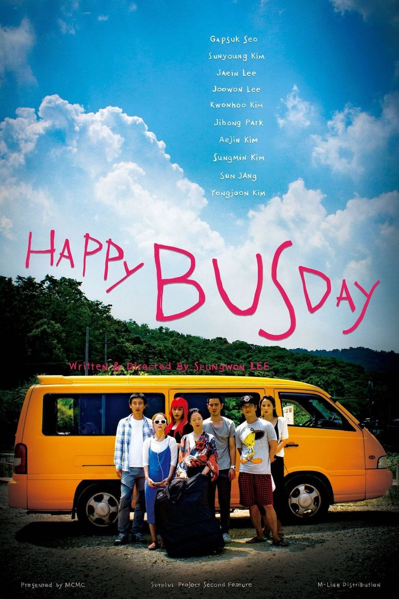Happy Bus Day Poster