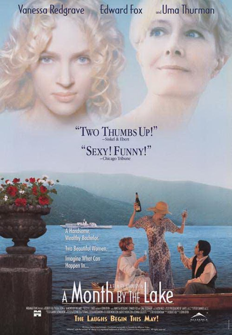 A Month by the Lake Poster