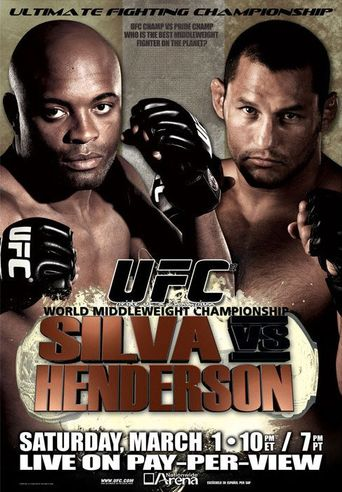 UFC 82: Pride of a Champion Poster