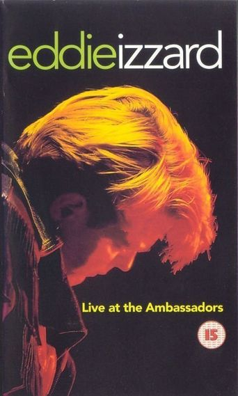 Eddie Izzard: Live at the Ambassadors Poster