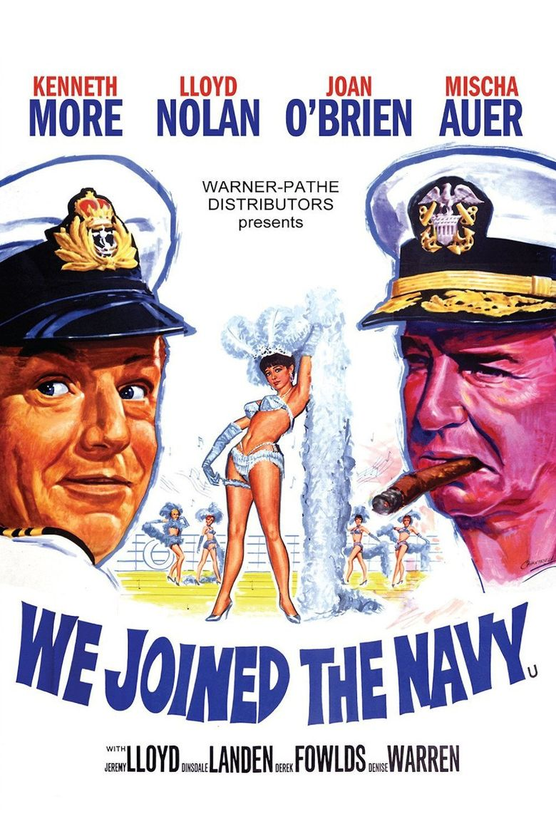 We Joined the Navy Poster