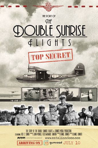 The Double Sunrise Flights Poster