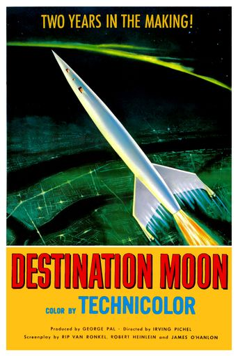 Destination Moon Poster