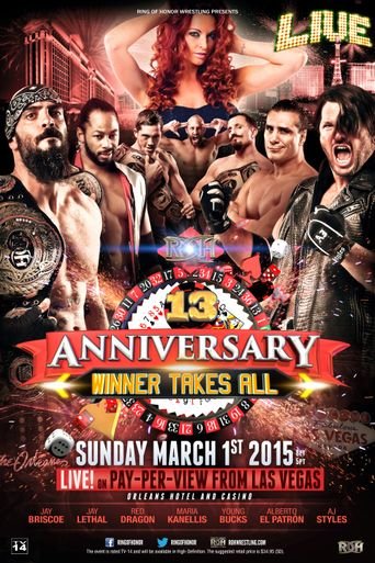 ROH 13th Anniversary Poster