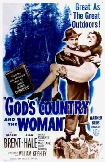 God's Country and the Woman Poster