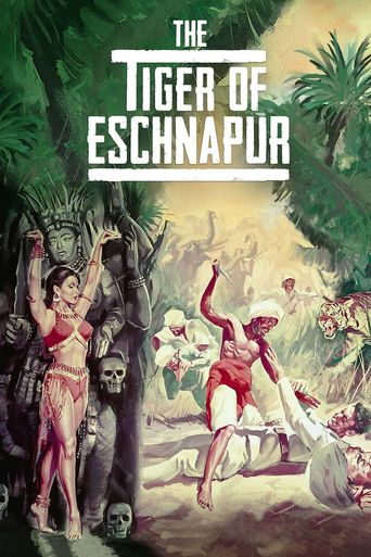 The Tiger of Eschnapur Poster