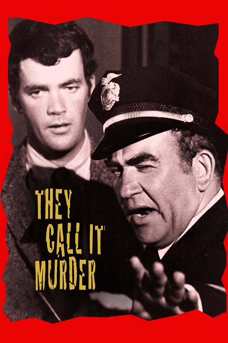 They Call It Murder Poster
