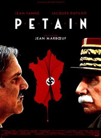 Pétain Poster