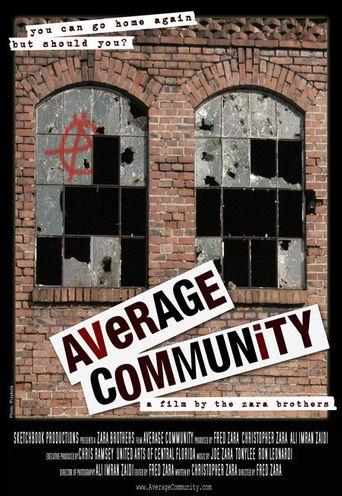 Average Community Poster
