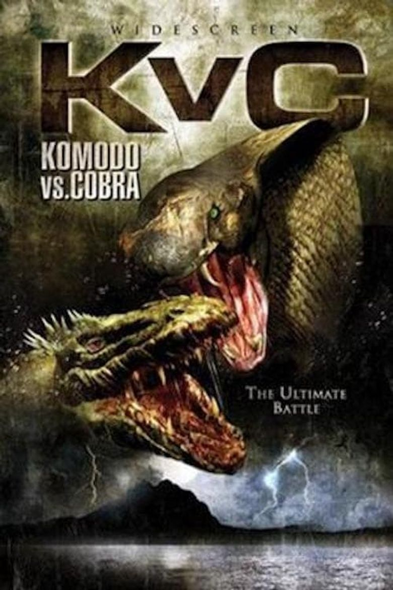 Komodo vs. Cobra Poster