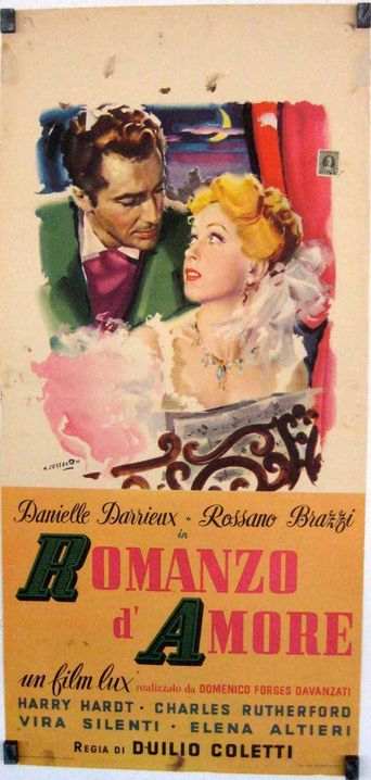 Romanzo d'amore Poster
