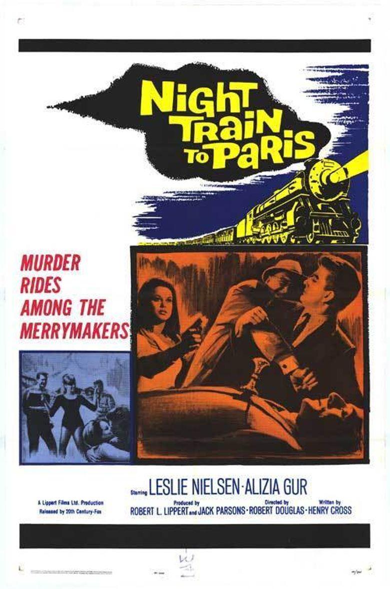 Night Train to Paris Poster