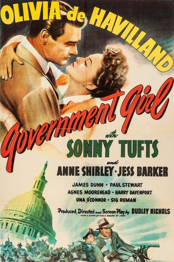 Government Girl Poster