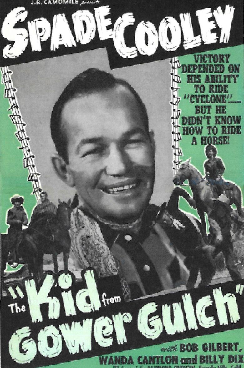 The Kid from Gower Gulch Poster