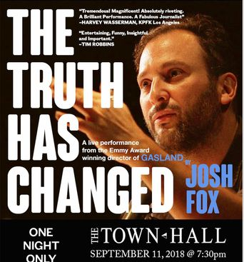 The Truth Has Changed Poster