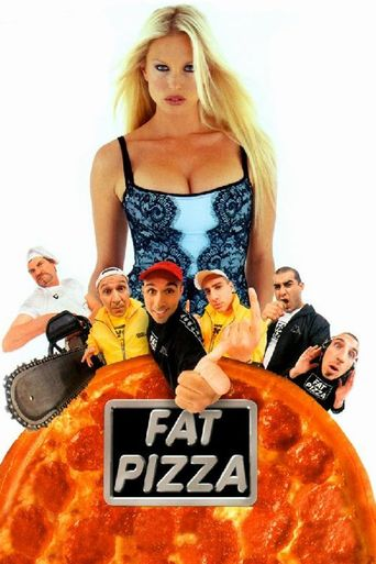 Fat Pizza Poster