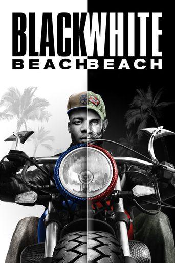 Black Beach White Beach Poster