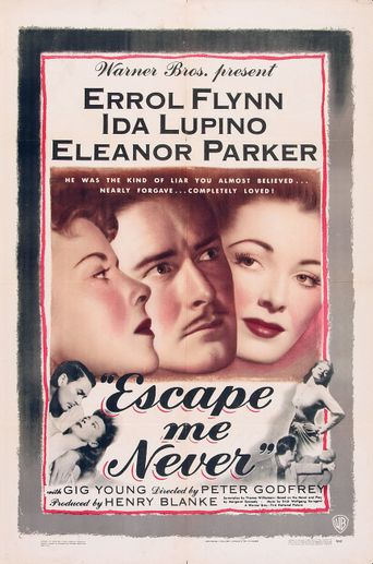 Escape Me Never Poster