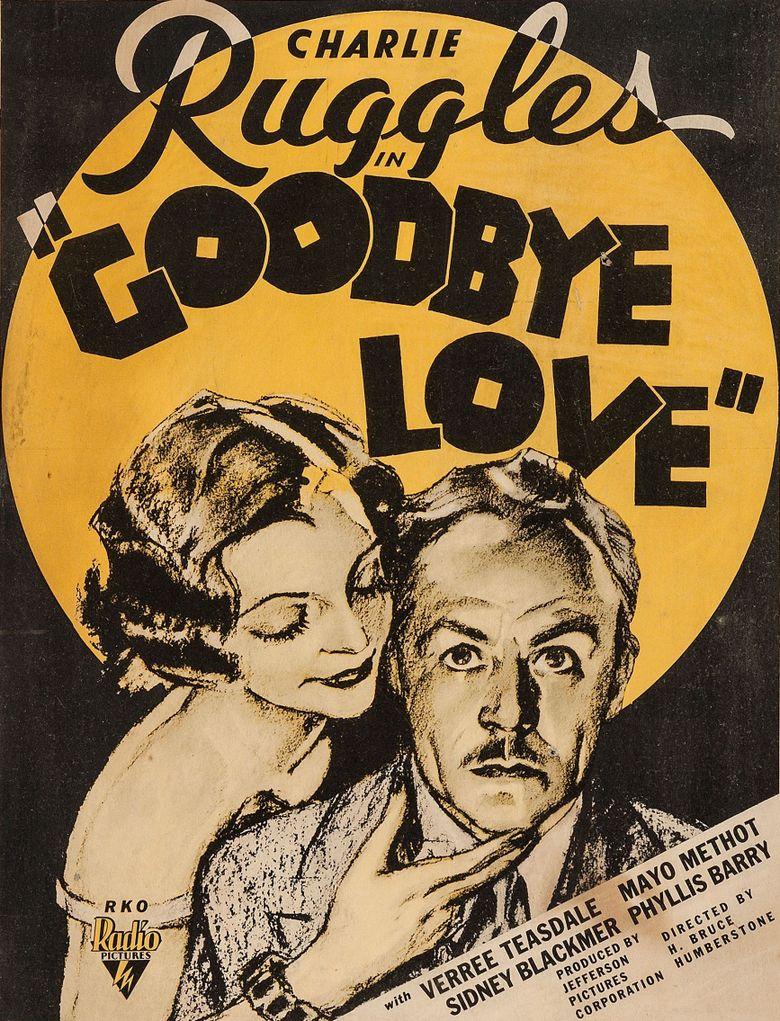 Good-bye Love Poster