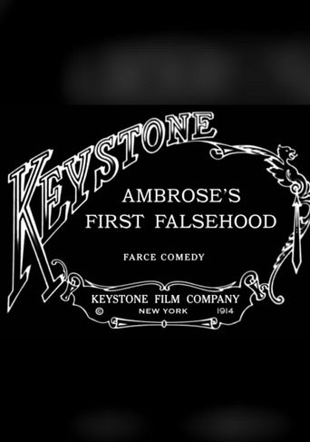 Ambrose's First Falsehood Poster