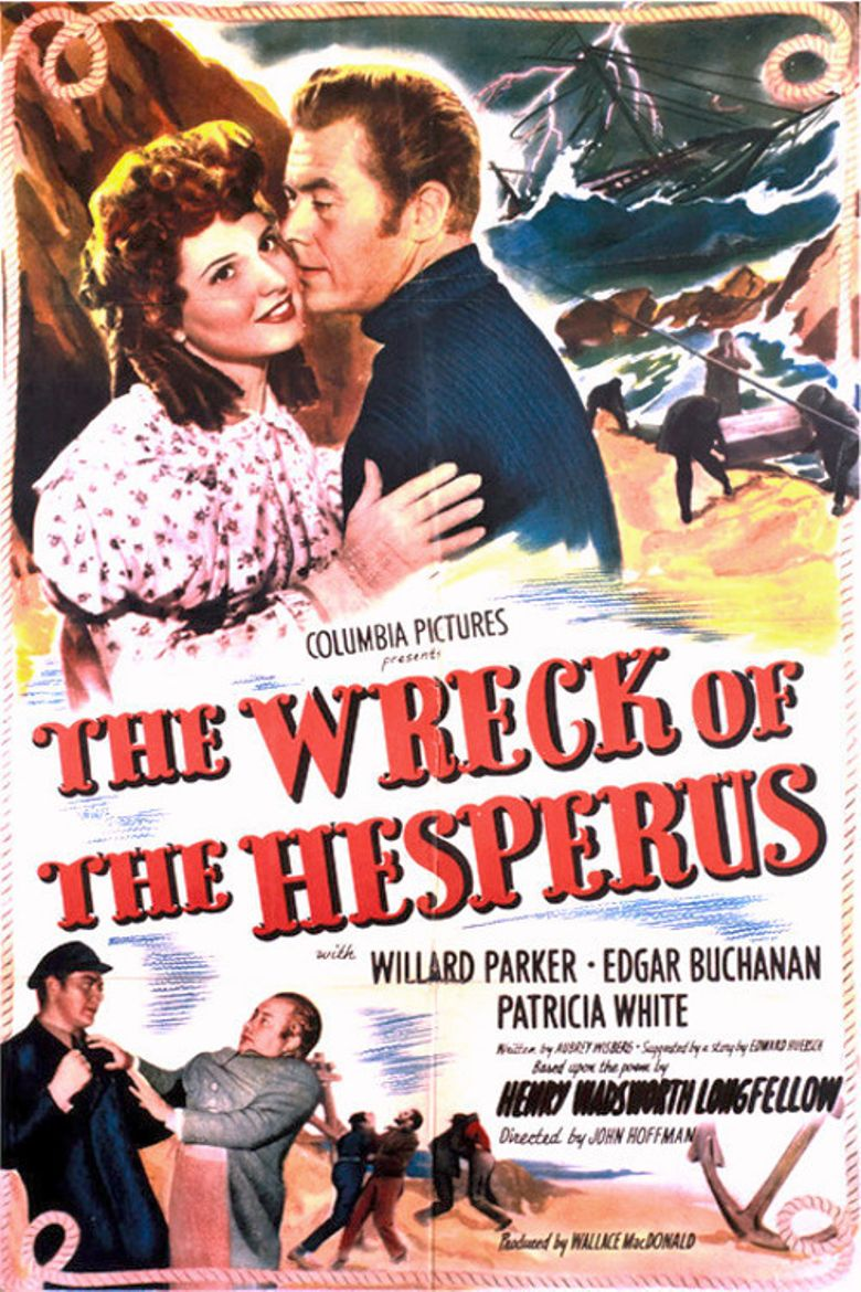 The Wreck of the Hesperus Poster