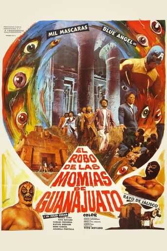 Robbery of the Mummies of Guanajuato Poster