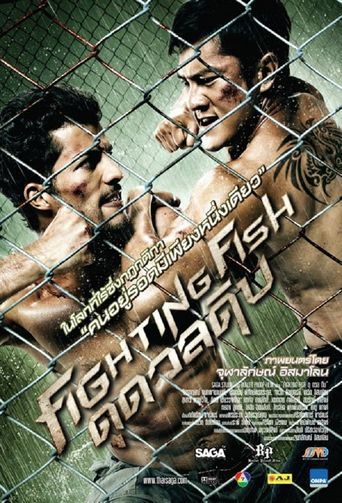 Fighting Fish Poster