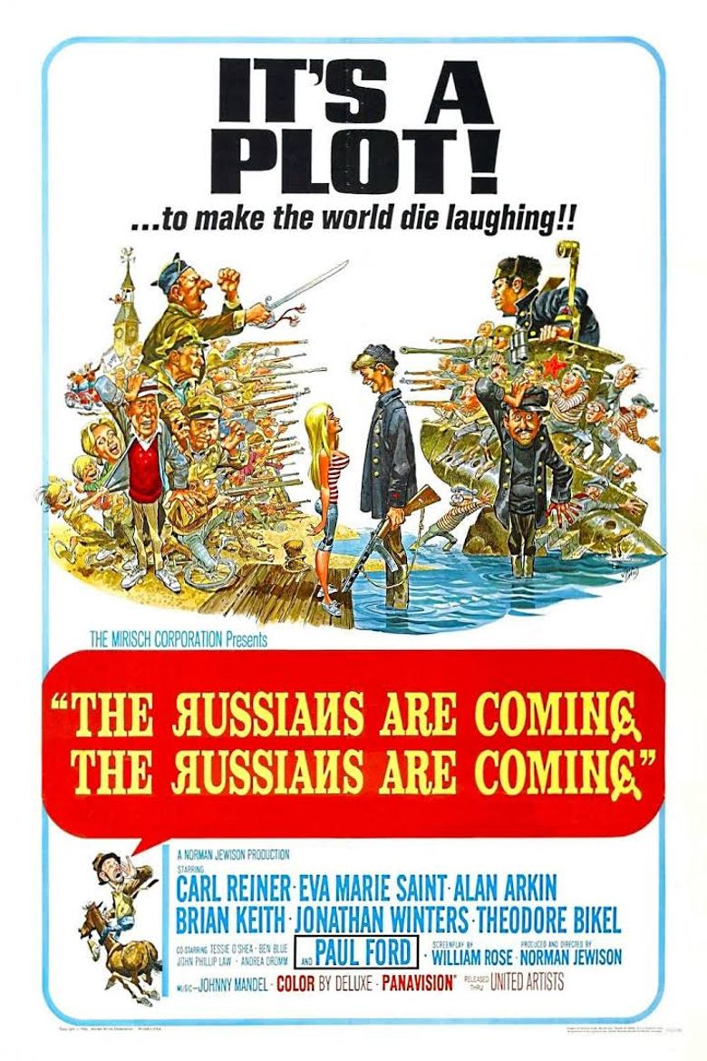 The Russians Are Coming, the Russians Are Coming Poster