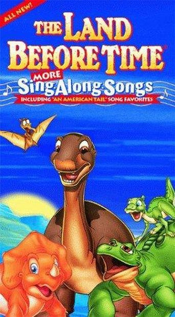The Land Before Time Sing Along Songs Poster