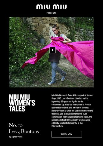 Les 3 Boutons Poster