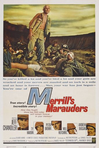Merrill's Marauders Poster