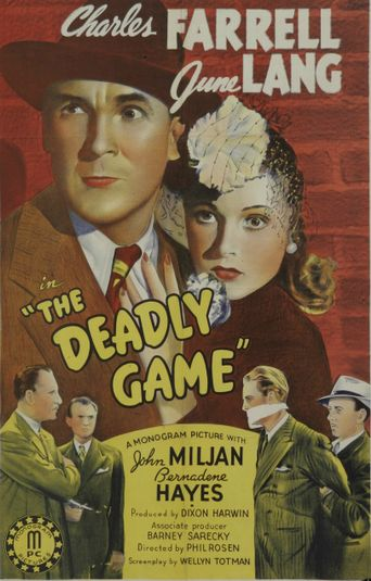 The Deadly Game Poster
