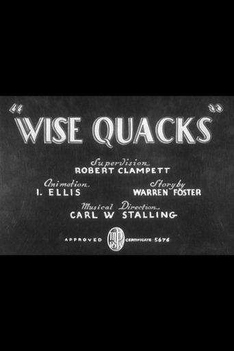 Wise Quacks Poster