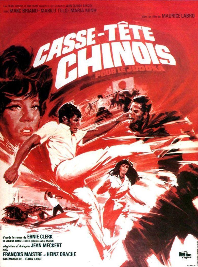 Casse-tête chinois pour le judoka Poster