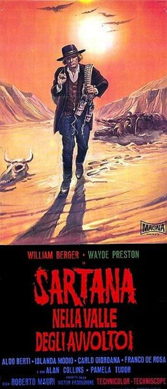 Sartana in the Valley of Death Poster