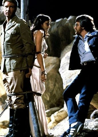 "On Set With ""Raiders Of The Lost Ark"" Poster"
