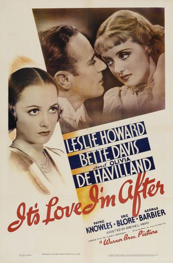 It's Love I'm After Poster